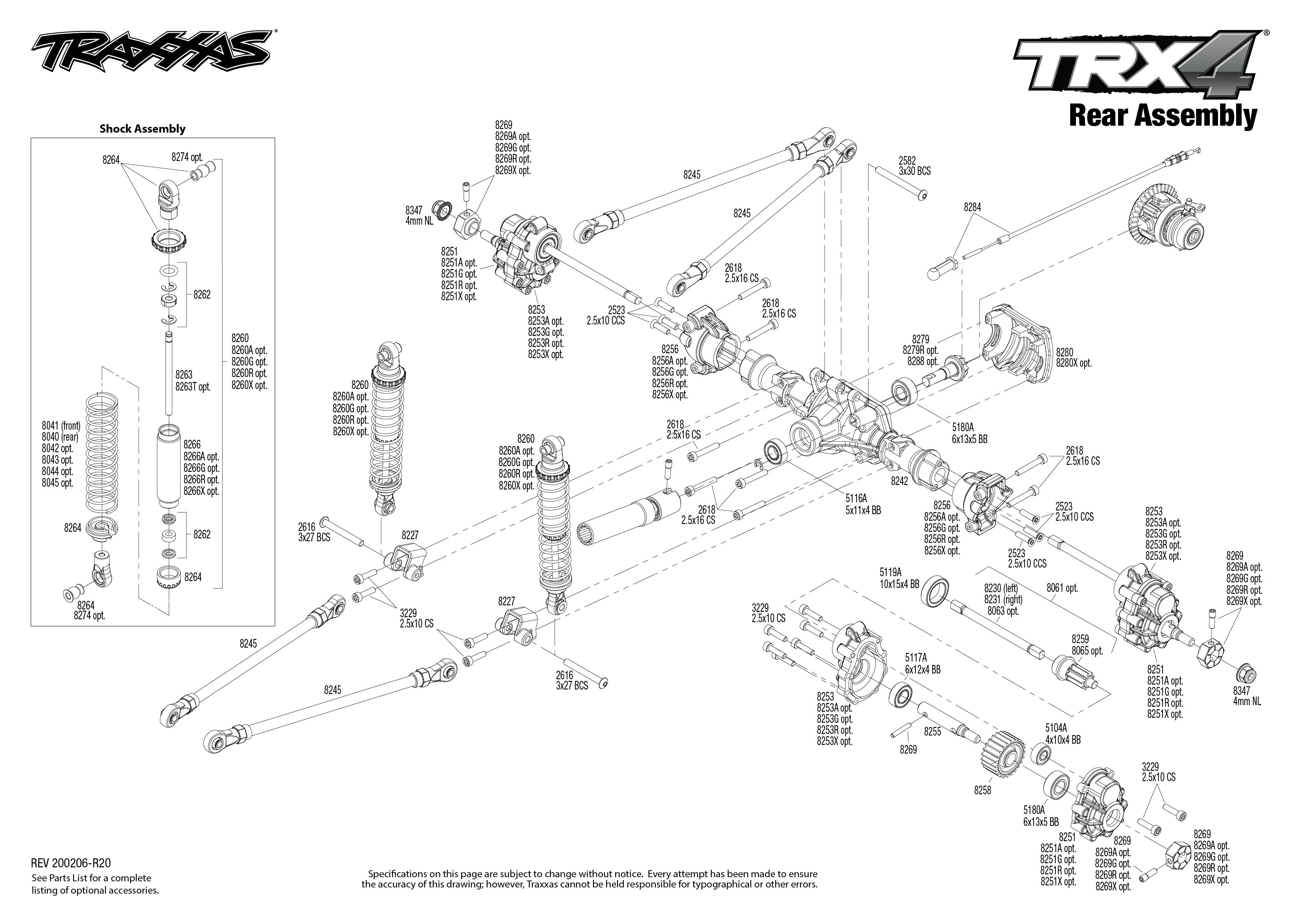 Traxxas TRX-4 Scale and Trail 1/10 4WD Crawler with Land Rover Body, Red  TRA82056-4-RED   [Cars & Trucks] - Larry's Performance RC Online lprcsLarry's Performance R/C's Online